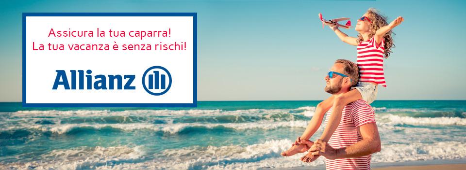 Manda in vacanza anche i tuoi pensieri - Allianz